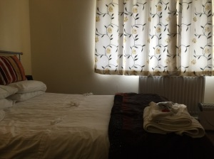 My comfortable room at The Gateway, Hest Bank.