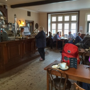 Lunch in the Brief Encounters cafe at Carnforth Station.