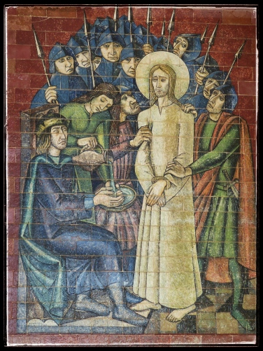 Pilate washes his hands of Jesus